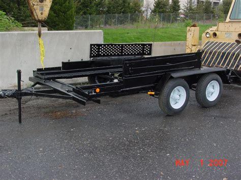 coffin race car trailer