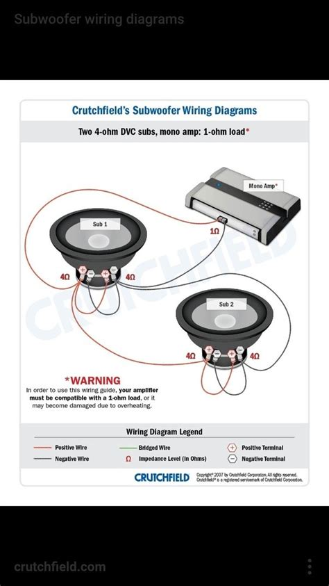 how to wire 2 500 watt subwoofers to a 1500 monoblock
