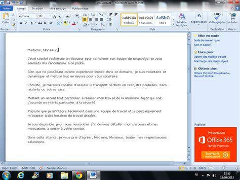 Lettre De Motivation De Eboueur Modele Lettre De Motivation Pour Etre Eboueur Document