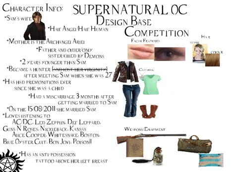 Competition Update by Supernatural Oc Design Competition Update By Mhanimechick