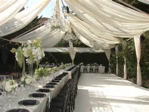 How To Drape A Tent Ceiling Vigens Party Rentals Tent Rentals Los Angeles Drapery And