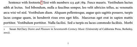 footnote format in latex spacing footnote hang adding vertical space around