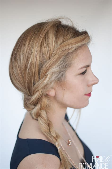 how to seeo pony tail with crown height easy twisted ponytail hairstyle tutorial hair romance
