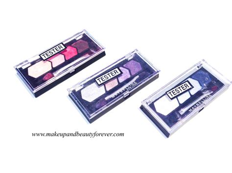 Pureglow Eye Shadow maybelline glow eye shadow by eyestudio review shades swatches price and details