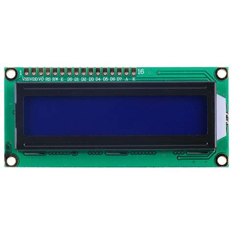 Lcd 1602 Module Screen 16x2 Character Aliexpress Buy Lcd Display For Raspberry Pi Lcd 1602