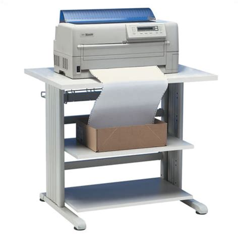 printer table 6 heavy duty with 2 shelves