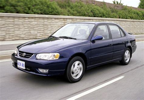 02 Toyota Corolla Toyota Corolla S Sedan Us Spec 2001 02 Images