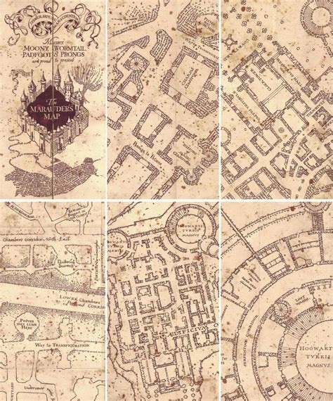 Marauders Map Printable 25 best ideas about marauders map on harry
