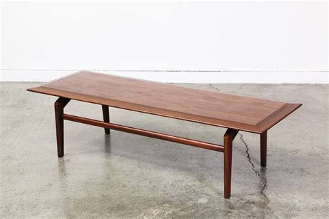 floating coffee table mid century walnut floating top coffee table vintage
