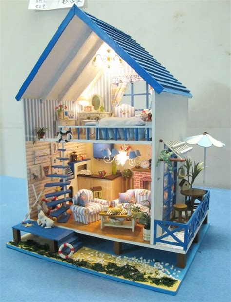 beach doll house miniature beach doll house miniatures one twelve scale figures and