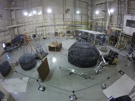 center for real life design launches with an emphasis on nasa plan to capture asteroid and then drag it into orbit