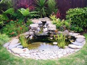 Backyard Goldfish Pond Pictures Of Small Garden Ponds And Waterfalls Garden Post