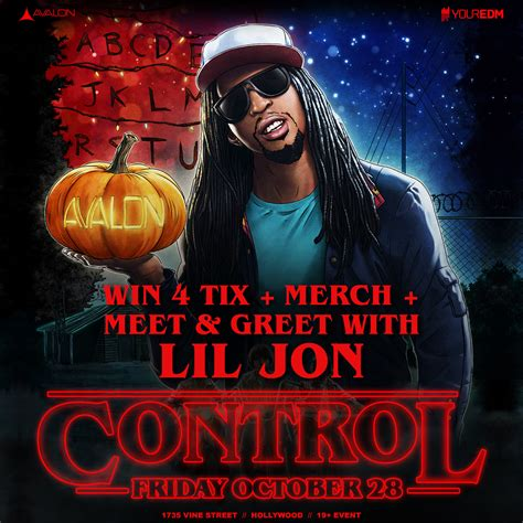 lil jon dubstep meet lil jon when he plays control at avalon this friday