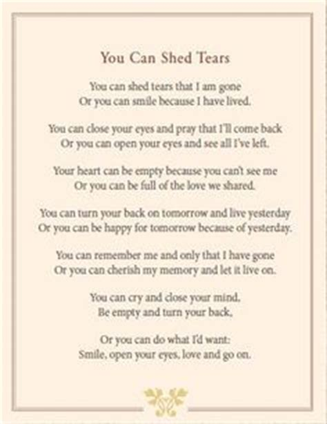 Poem You Can Shed Tears That He Is 1000 images about i feel you on letter from