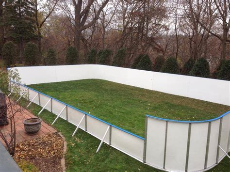 backyard hockey rink boards backyard rink with boards outdoor furniture design and ideas