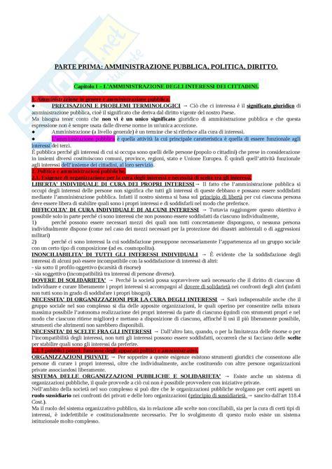 dispensa di diritto amministrativo diritto amministrativo fonti dispense