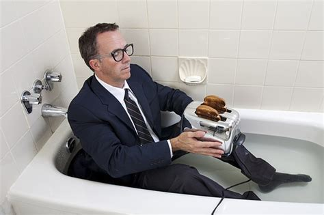 Toaster In Bathtub by As Happy As A Turtle On A Conveyor Belt August 2010