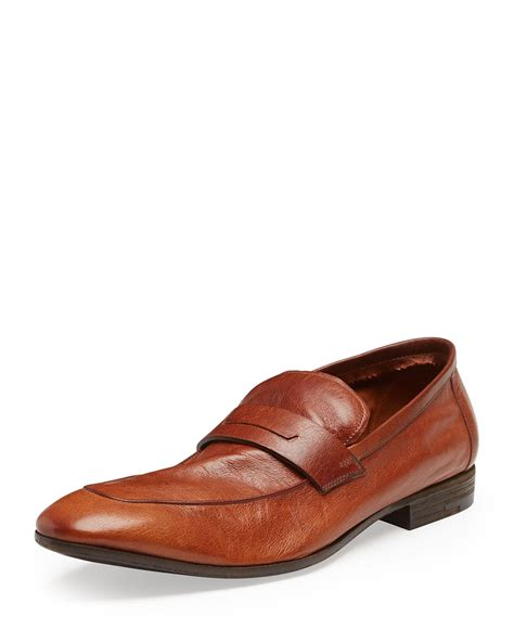 berluti loafers berluti lorenzo unlined leather loafer in brown for lyst