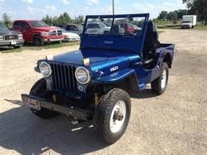 Jeep Cj2a For Sale Sell New 1948 Willys Jeep Cj 2a Cj2a 4x4 Vintage Flat