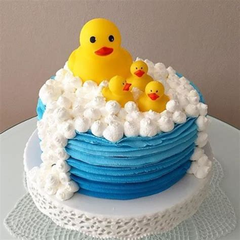 Rubber Duckie Baby Shower Cake by Rubber Ducky Cake Adorable Loucaporfestas Baby