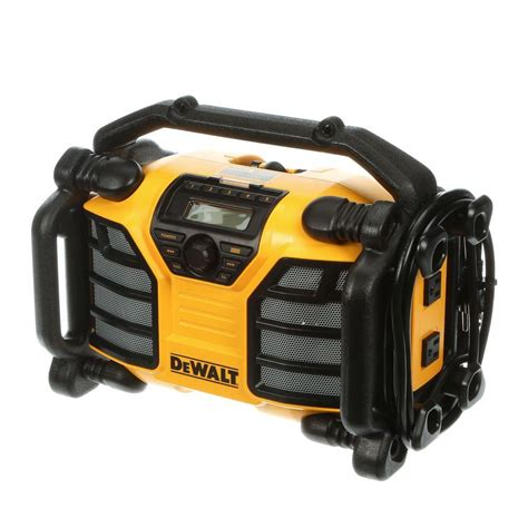 chargers radio dewalt 12 volt 20 volt max charger and radio dcr015 the