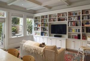 Living Room Bookshelves And Cabinets Floor To Ceiling Built Ins Design Ideas