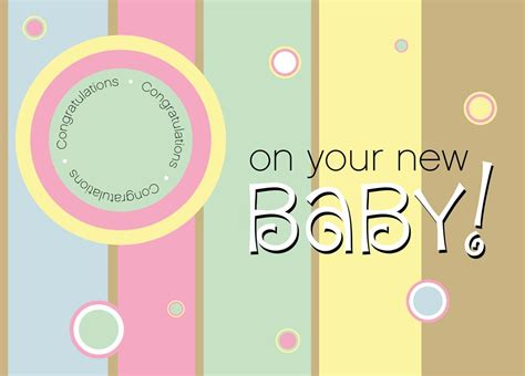 new baby greeting card template new baby value card congratulations by cardsdirect