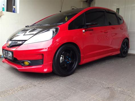 Headl Jazz Rs 2013 Smoke Black by Honda Jazz Fit Ge8 Spoon Wannabe Tupanx
