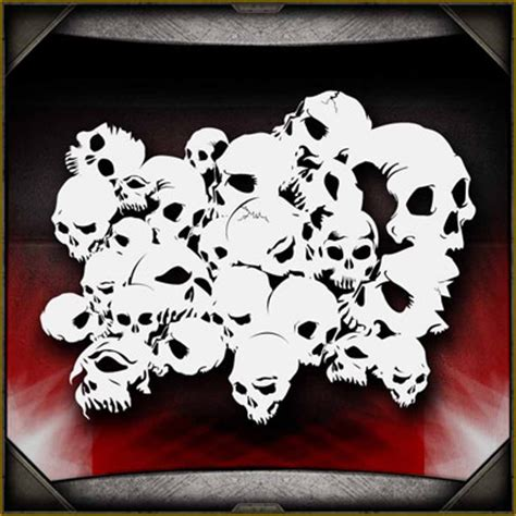 skull template airbrush skull backgrounds
