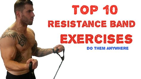 rich and the resistors band schedule top 10 resistance band exercises