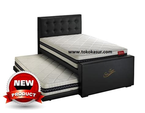 Bed Bigland Set 2in1 sixteen toko kasur bed murah simpati furniture