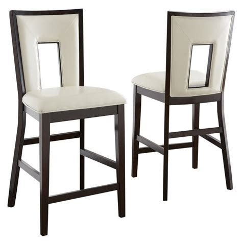 The Dining Chair Company Steve Silver Company Delano Counter Height Dining Chair In Espresso De800cc