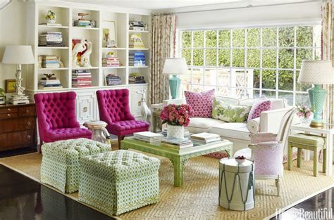 pink and green living room the glam pad krista ewart s whimsical and colorful los