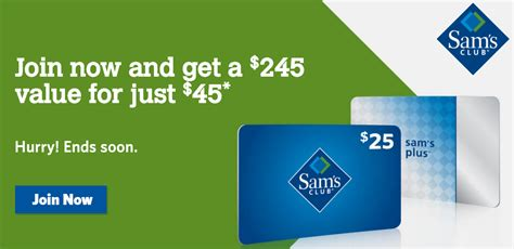 Does Sams Club Have Gift Cards - hot one year sams club membership 25 gift card free mega deals and coupons