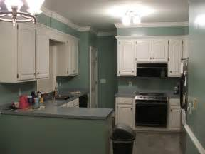 kitchen paint color ideas with cherry cabinets