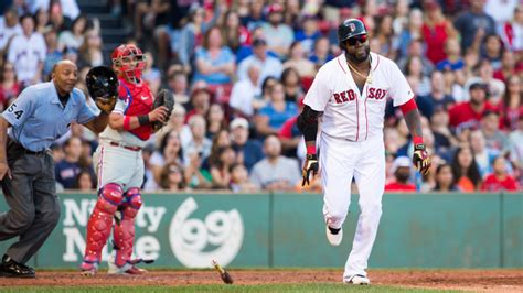david ortiz hits 496th career home run sets team record