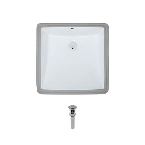 mr direct bathroom sinks mr direct undermount porcelain bathroom in white with