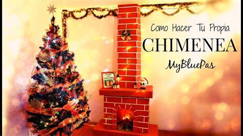 chimenea de navidad como decorar para navidad como hacer una chimenea