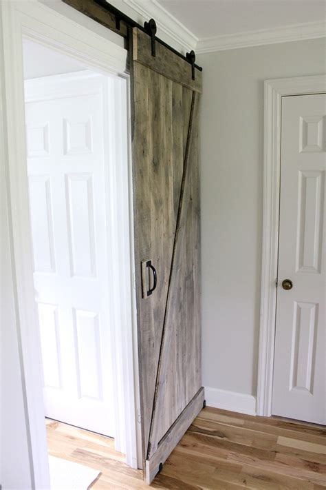 Simple Diy Barn Door Tutorial Orc Week 4 Noting Grace Swinging Barn Door Hardware