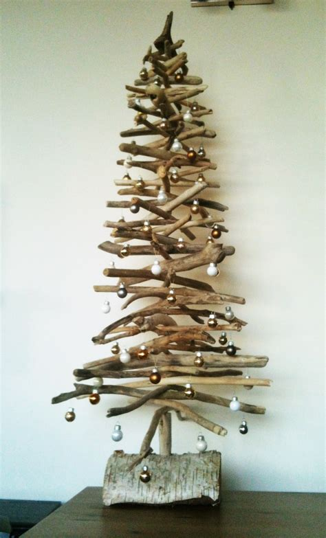 driftwood christmas tree fun things to make pinterest