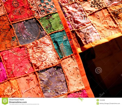 Patchwork Textiles - patchwork textiles royalty free stock photos image 1054008