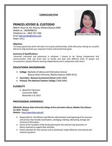the most brilliant how to make simple resume for a job