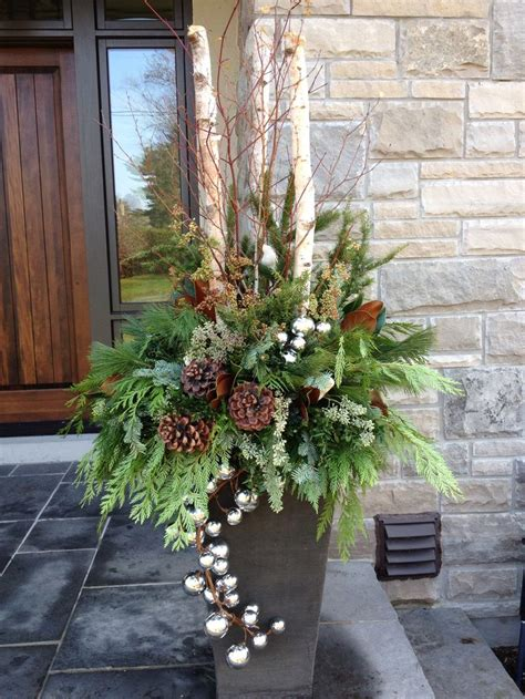 outdoor winter planter ideas best 25 planters ideas on outdoor planters urns and