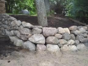 boulder landscaping boulder walls rasset landscaping