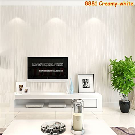 tv wall decoration for living room 1 roll 5 color non woven fabrics 3d striped wallpaper for