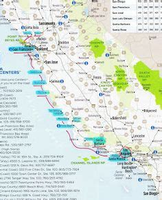 O Malley Mba Realty by Map Of California Big Sur San Fran Sequoia Redwoods
