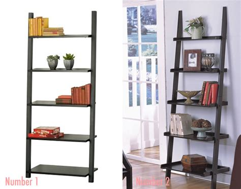 sloane bookshelf less or more leaning bookcases popsugar