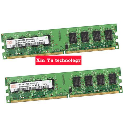 Ram Ddr2 2gb Surabaya desktop memory lifetime warranty for hynix ddr2 2gb 4gb 800mhz pc2 6400u 800 2g computer ram