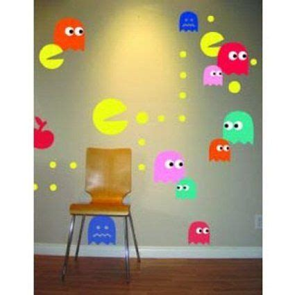 Pac Man Wall Stickers Pac Man Wall Decal Cool Wall Decal Pinterest