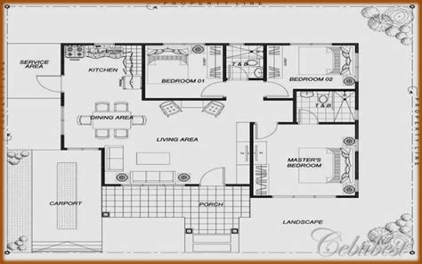 house floor plan philippines sle bungalow house plans in the philippines joy
